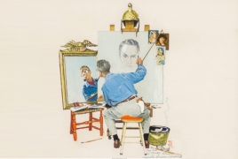 Norman Rockwell study sets world record at Heritage Auctions