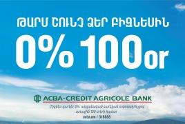 АКБА: Бизнес на 100 дней будет освобожден от выплаты процентов