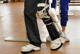 New robotic 'exoskeleton' prevents elderly falls