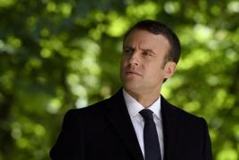 Trump, Macron plan