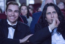 "James Franco comedy ""The Disaster Artist"" gets awards season release"