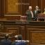 Armenia's Tsarukyan bloc names new parliament deputy speaker