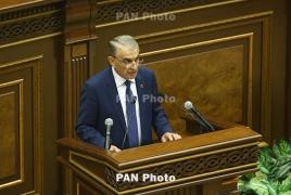 Председателем Национального Собрания Армении избран Ара Баблоян