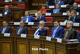 Armenian National Assembly elects deputy speakers