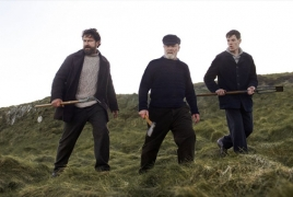 "First look: Gerard Butler heads back to Scotland in ""Keepers"""