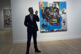 Basquiat auctioned for $110.5 million in New York
