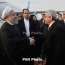 Саргсян поздравил Роухани с победой на президентских выборах в Иране
