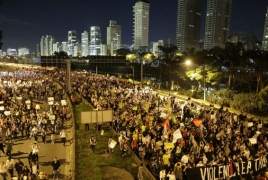 Ministerial building set on fire during Brazil clashes
