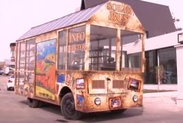 Հայաստանի առաջին արևային ավտոբուսը տուրիստական  երթուղի դուրս կգա