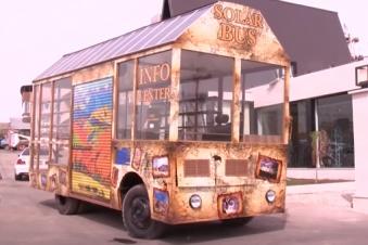 Հայաստանի առաջին արևային ավտոբուսը տուրիստական երթուղի դուրս....