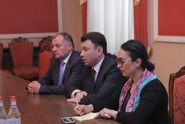 Вице-спикер НС РА намекнул послу Белоруссии на недовольство Минском в карабахском вопросе