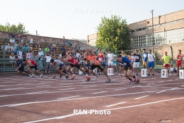 Armenian athletes win gold at Georgian Athletics Championship