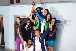 Armenian swimming team wins 70% of medals at Georgian Championship