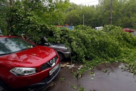 Several killed as severe thunderstorm hits Moscow