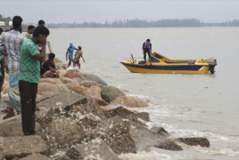 Hundreds of homes destroyed as storm hits Bangladesh
