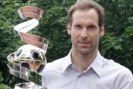 Петр Чех в 11-й раз стал лучшим футболистом Чехии