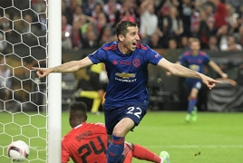Mkhitaryan wins Man Utd's Goal of the Month again