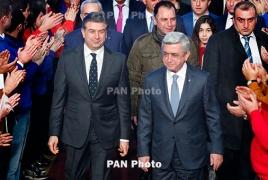 Armenian president: PM Karapetyan has no reason to resign