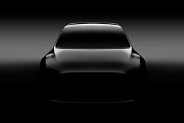 Tesla опубликовала первое фото нового кроссовера Model Y: Он выйдет в 2019 году