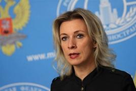 Захарова: Сопредседатели МГ ОБСЕ прибудут в Армению 10 июня