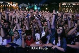 Тимати дал открытый концерт в Ереване: На площади собрались более 40.000 человек