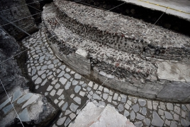 Ancient Aztec temple, ball court discovered in the heart of Mexico City