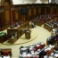 Armenian parliament approves corruption bill in final reading