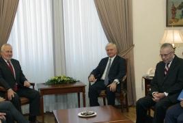 "Armenia: Russia, France, U.S. ""must take concrete measures"" on Karabakh"