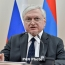 """Armenia says """"highly values"""" Russia's role in Karabakh settlement process"""