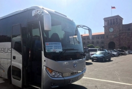 New shuttle route connects Zvartnots airport to downtown Yerevan