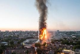 Полиция Лондона: Пожар в многоэтажке - не теракт, но причины пока выясняются
