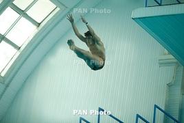 Чемпионат Европы по прыжкам в воду в Киеве: братья Арутюняны заняли 6-е место