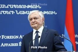 Armenia foreign minister