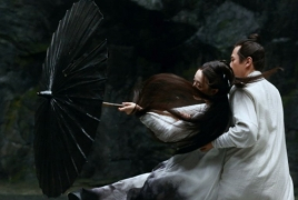 "1st look at Chinese cinema legend Zhang Yimou's ""Shadow"""