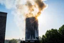 Семье армянина удалось выжить при пожаре в Лондоне