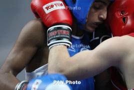 Боксер Карен Тонаканян проиграл в четвертьфинале ЧЕ