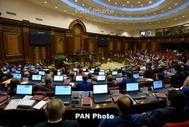 Armenia NA approves govt. program despite objection from opposition