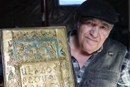 Национальный фонд искусства США наградит мастера армянской чеканки по металлу