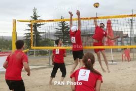 Армянские пляжные волейболисты примут участие в юношеском чемпионате в Вильнюсе