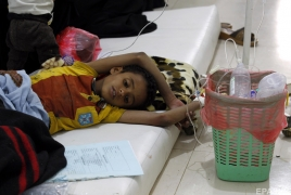Yemen cholera cases could pass 300,000 by September, UN says