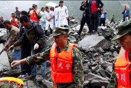 At least 140 missing China landslide