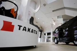 Takata files for bankruptcy protection in Japan
