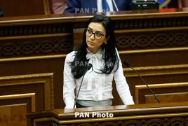 Armenia's deputy parliament speaker elected PACE vice president