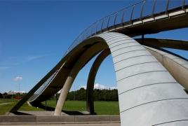 В Голландии напечатают велосипедный мост из армированного бетона