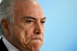 Brazil president charged with taking multimillion-dollar bribes