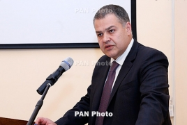 Armenian justice minister hails 'opposition's deferment of revolution'