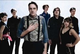 """Arcade Fire debut a new song, """"Chemistry"""" in London"""