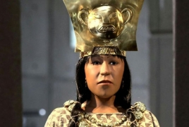 Scientists reconstruct face of woman who ruled Peru 1,700 years ago