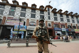 Widespread curfew in Kashmir for rebel leader's death anniv.