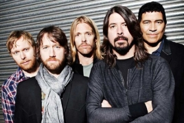 """Foo Fighters premiere new song """"Arrows"""" during huge Acropolis show"""